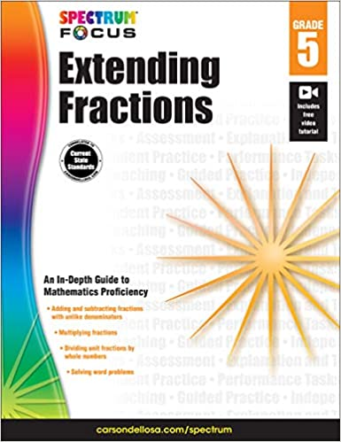Descargar Con Mejortorrent Spectrum Extending Fractions, Grade 5 PDF Gratis Descarga