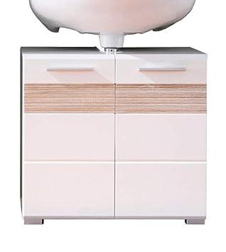 Badezimmer Waschbeckenunterschrank | Trendteam Badezimmer Waschbeckenunterschrank Unterschrank Mezzo 60