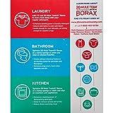 BORAX 20 Mule Team Laundry Booster, Powder, 4