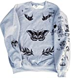 : Harry Styles One Direction UPDATED Tattoos Sweatshirt