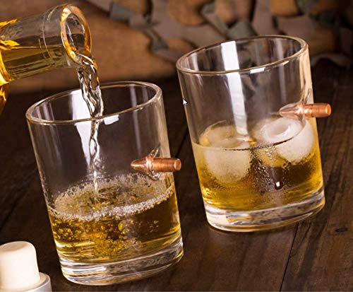 Lucky Shot .308 RealBullet HandmadeWhiskey Glass - Set of 4 by Lucky Shot (Image #6)