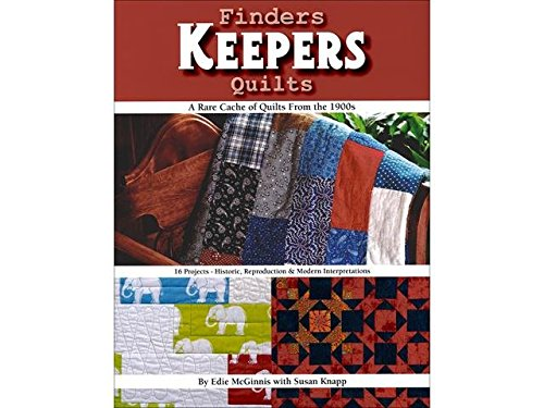 Kansas City Star Finders Keepers Quilts Bk by Kansas City Star