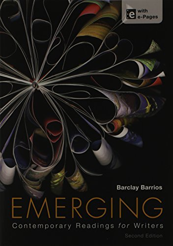 Download By Barclay Barrios Emerging 2e & A Pocket Style Manual 6e (2nd Second Edition) [Paperback] pdf epub