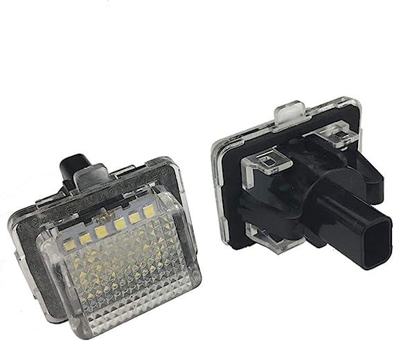 2pcs 18 Led Nummer Kennzeichenbeleuchtung Lampe Für W204 W212 C207 C216 W221 S204 Automobil Rücklicht Auto