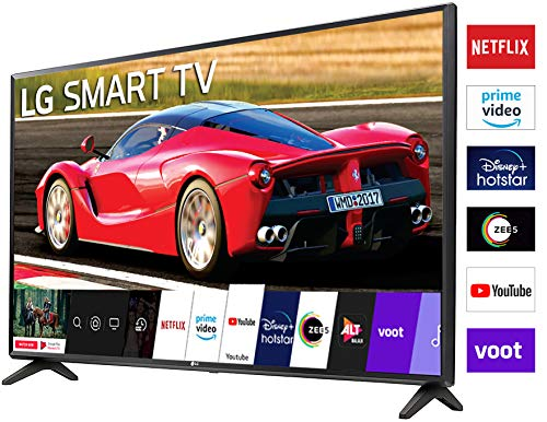 LG 80 cm (32 inches) HD Ready Smart LED TV 32LM563BPTC (Dark Iron Gray) (2020 Model) Discounts Junction