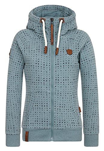 Naketano Female Zipped Jacket Stern aller Brazzos Stormy Sea Melange HnDZZl 5a1dcd84fe