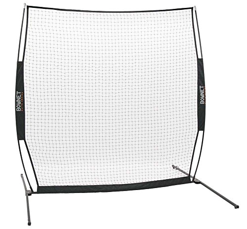BowNet Elite Protection Net Baseball/Softball 8'x8' Sports Net - Pitching Collapsible Screen
