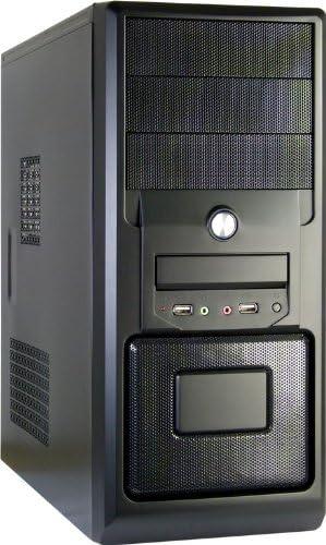 Inter-Tech JY-260 Hedgehog - Caja de Ordenador (Midi-Tower, PC, ATX, uATX, 500W, 80, 120 mm, 80, 92 mm) Negro: Amazon.es: Informática