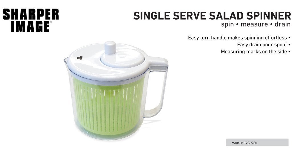 Single Server Salad Spinner