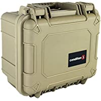 Royal Case Company Condition 1 11-inch Small #185 Airtight/Watertight Protective Case with DIY Customizable Foam