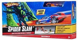 Hot Wheels Set Araña Slam de pista