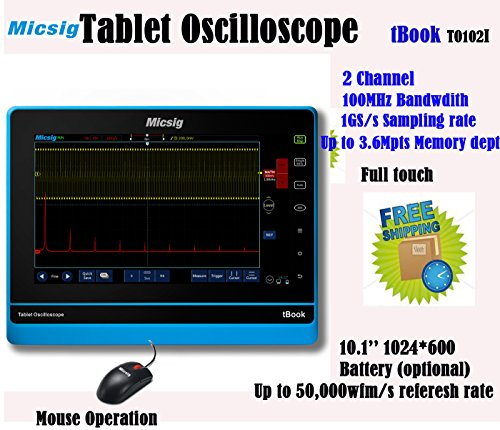 Micsig tablet oscilloscope TO104I 100MHz with battery - Buy