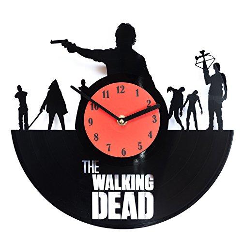 secondlifeforvinyl The Walking Dead Vinyl Wall Clock