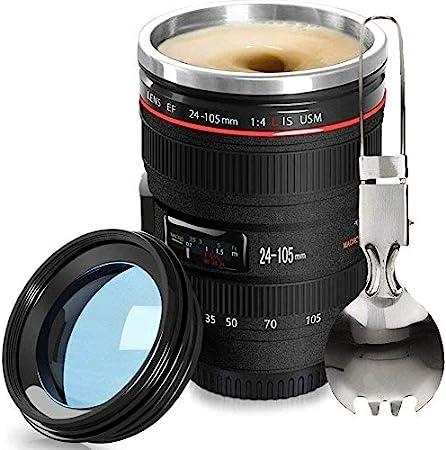 Amazon.com: Fanatek - Taza de café con lente de cámara, 12,5 ...