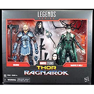 Marvel  Legends 80th Anniversary Thor Ragnarok Skurge & Hela 2-Pack