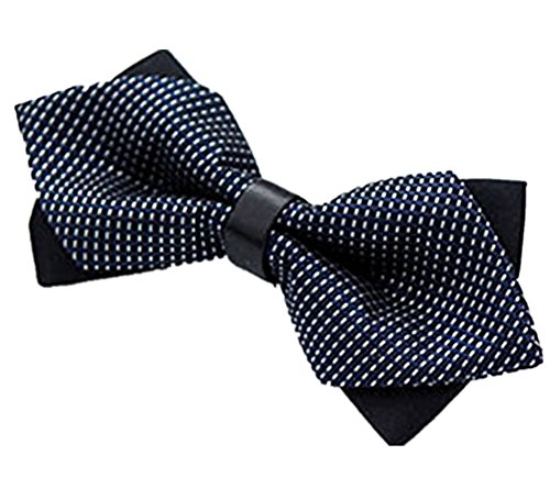 Men's Wedding Various Polyester Party Style 1pc Blue New Ties Bow Designs Tied Bow Westeng Tie Pre qtSTwF