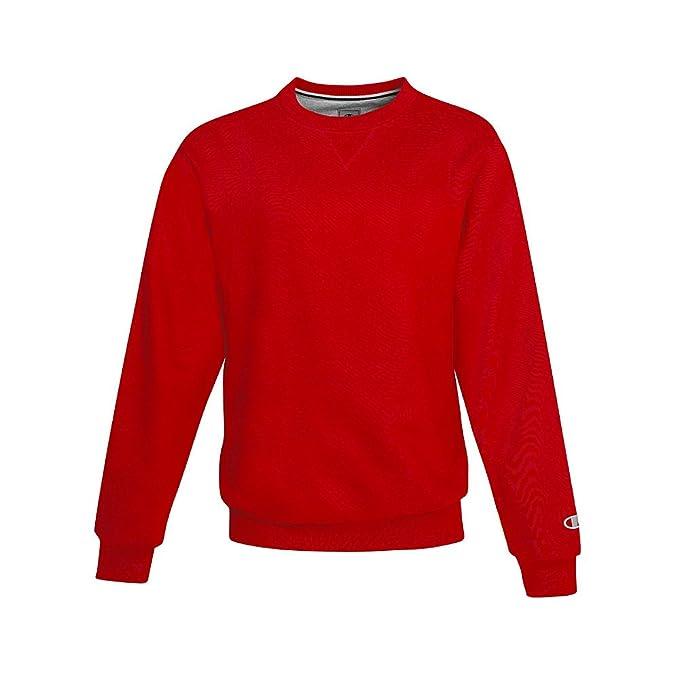 Champion - para hombres en algodón prenda informal. - Rojo - XS: Amazon.es: Ropa y accesorios
