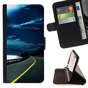 BullDog Case - FOR/LG Nexus 5 D820 D821 / - / Nature Beautiful Forrest Green 12 /- Monedero de cuero de la PU Llevar cubierta de la caja con el ID Credit Card Slots Flip funda de cuer