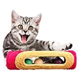 MyLifeUNIT Cat Running Ball, Cotton Ball Toy for Cat, 2 PCS