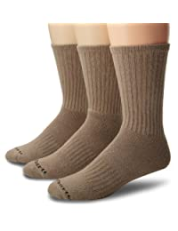 Carhartt Men's Work Wear Cushioned Crew Sock 3-Pack