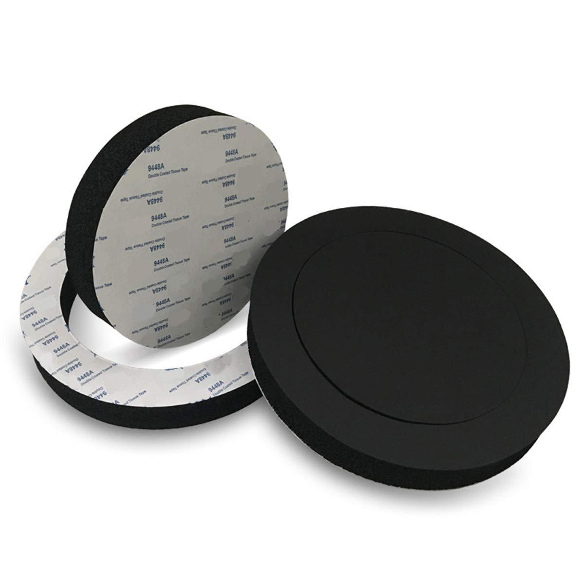 "3 Pack 3X 6.5 Car Door Foam Speaker Enhancer System Sponge Kit Fast Foam Rings Bass Blocker Soundproof Spong Stereo Foam for 6 6.5 6.75/"" 7 Coaxial Speakers Marine Speakers Spacer"
