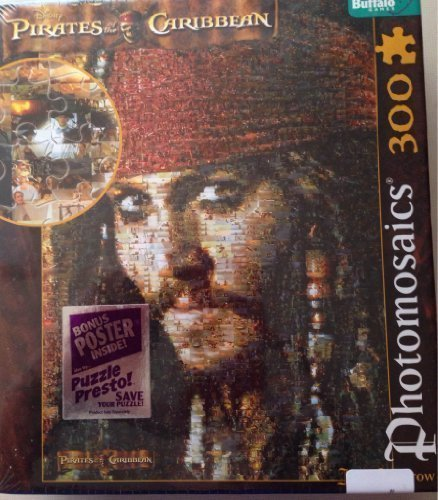 Disney Pirates of the Caribbean Jack Sparrow Puzzle by Buffalo Games ()