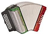 Hohner Accordions 3500ARWG 43-Key Accordion