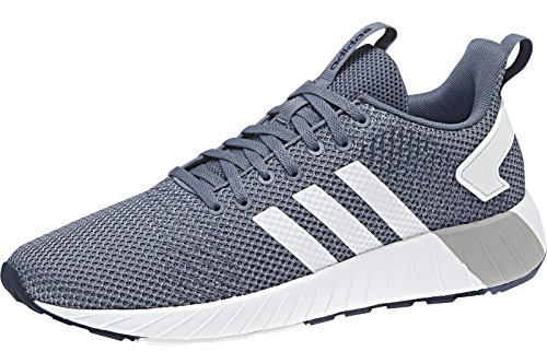 adidas Questar BYD, Men's Trainers Blu (Tech Ink/Ftwr White/Raw Grey S18)