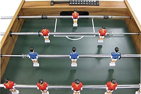 Buffalo. nl Niños Shoot Mesa de futbolín, marrón, M: Amazon.es: Deportes y aire libre
