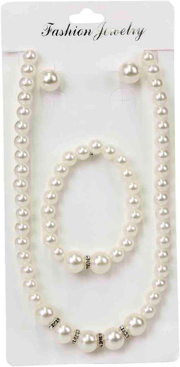 Lote de 10 Elegantes Conjuntos de Collares+Pulseras+ Pendientes