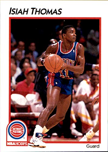 1991-92 Hoops McDonald's #13 Isiah Thomas DETROIT PISTONS