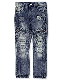 Lion Dynasty Boys' Slim Fit Jeans