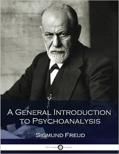 A General Introduction To Psychoanalysis Amazon Co Uk Sigmund