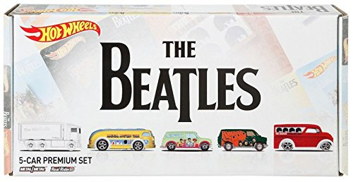 HOT WHEELS THE BEATLES 5 CAR PREMIUM SET ()