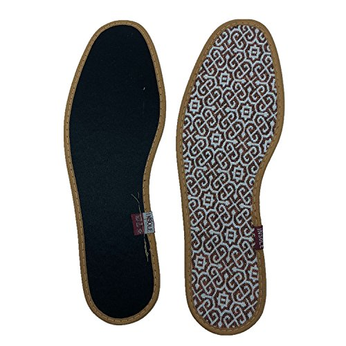 Comfort Summer Breathable Thin Lightweight Barefoot Insoles, (Pack of 3) by BIFINI (Image #7)
