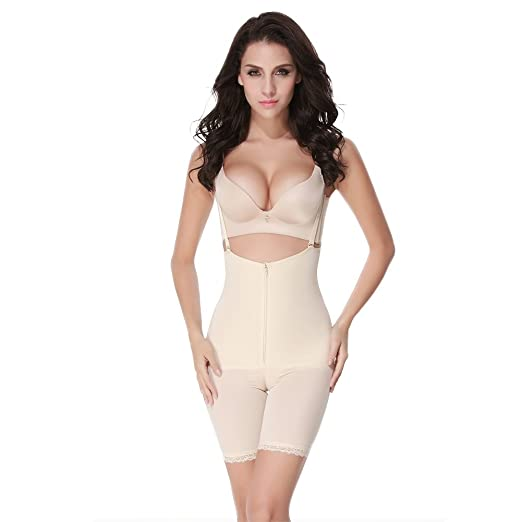 efacddb763490 Women s Control Panty Seamless Body Shaper Slimmer Shapewear Waist Cincher  Tummy Control Bodysuit