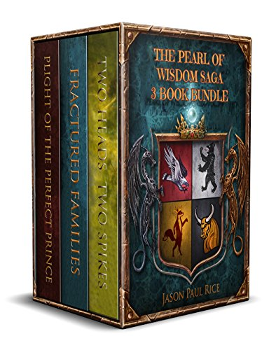 - The  Pearl of Wisdom Saga 3 Book Bundle: Two Heads Two Spikes, Fractured Families, Plight of the Perfect Prince