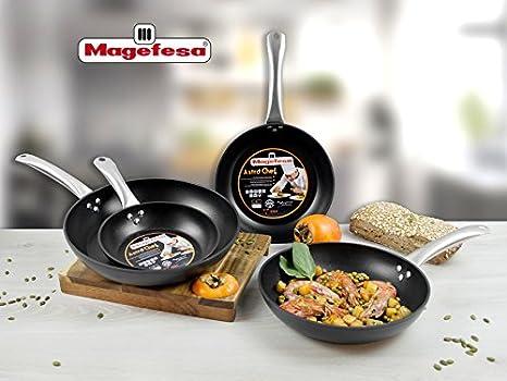 Magefesa Astro Chef Set Juego 3 Sartenes 20-24-28 cm ...