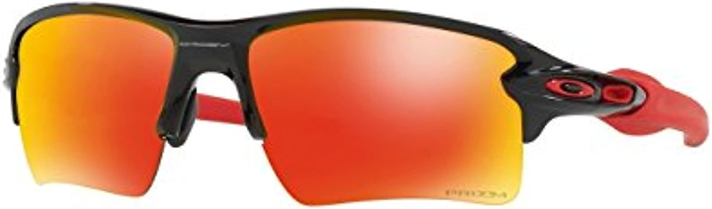 d7d5e12780234 Oakley Flak 2.0 XL Sunglasses Polished Black Prizm Ruby   Cleaning Kit  Bundle