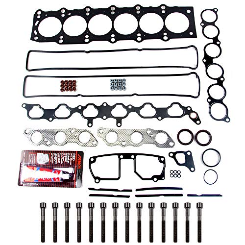 - SCITOO Head Gasket Bolts Set Replacement for Lexus GS300 Lexus SC300 Toyota Supra 92-98 Head Gaskets Kit Sets