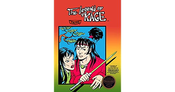 Amazon.com: The Legend of Kage: Video Games