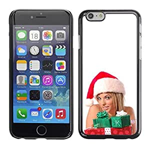 YOYO Slim PC / Aluminium Case Cover Armor Shell Portection //Christmas Holiday Sexy Hot Girl Woman 1016 //Apple Iphone 6