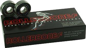 Rollerbones Bearings 8mm 16pk