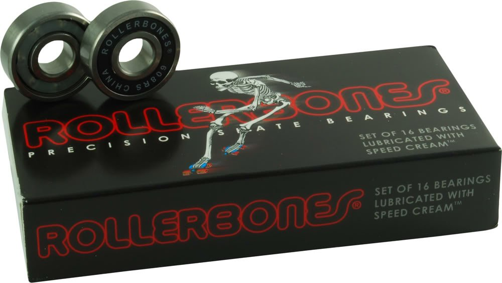 Rollerbones Bearings 8mm 16pk