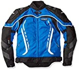 Cortech GX Sport 3 Men's Textile Armored Motorcycle Jacket (Blue/Black, X-Small)