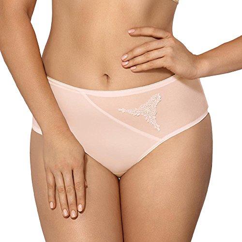 Nipplex ANI-KRE-Fig Women's Anita Creamy Pink Full Panty Highwaist Brief Sml