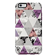 OtterBox Symmetry Series Case for iPhone 6 Plus / 6S Plus - Retail Packaging - Perfected Angle (White / Purple)