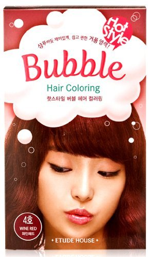 ETUDE HOUSE Bubble Hair Coloring no. 4 Red Wine