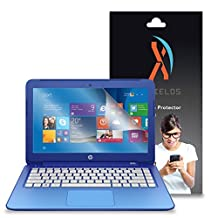 """XShields© High Definition (HD+) Screen Protectors for HP Stream Notebook 13.3"""" (Maximum Clarity) Super Easy Installation [2-Pack] Lifetime Warranty, Advanced Touchscreen Accuracy"""