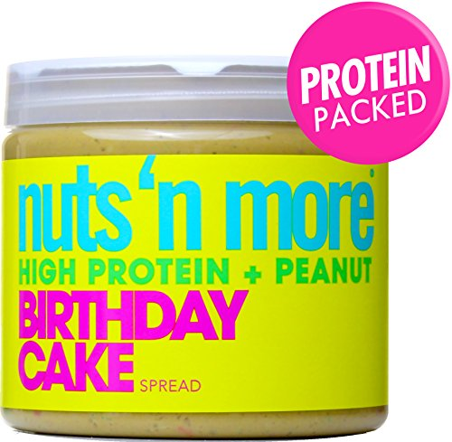 Nuts 'N More High Protein Birthday Cake Peanut Butter (16 oz)